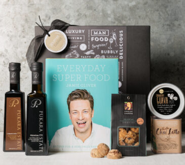 Jamie Oliver's book Everyday Super Foods Gift Hamper | Gourmet Gift Hamper | Gourmet Basket