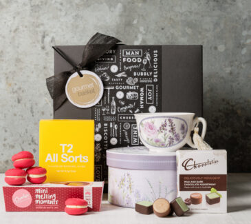Afternoon Tea Gift Hamper from Gourmet Basket. Gift Ideas for women