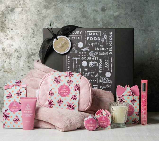 All things Nice gift hamper for women from Gourmet Basket