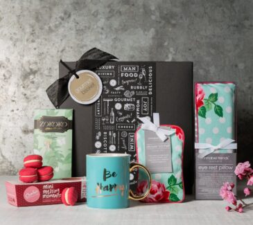 Gifts for women from Gourmet Basket. Thank you present. Thank you hamper. Gifts for her.