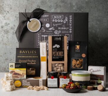 Gift Hampers from Gourmet Basket. Premium food hamper. Gourmet food gift.
