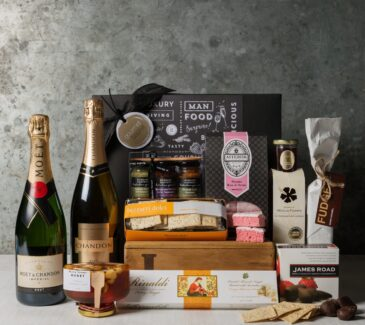 Champagne Celebration Hamper. Premium Champagne Gift Set. Gift Hampers from Gourmet Basket.