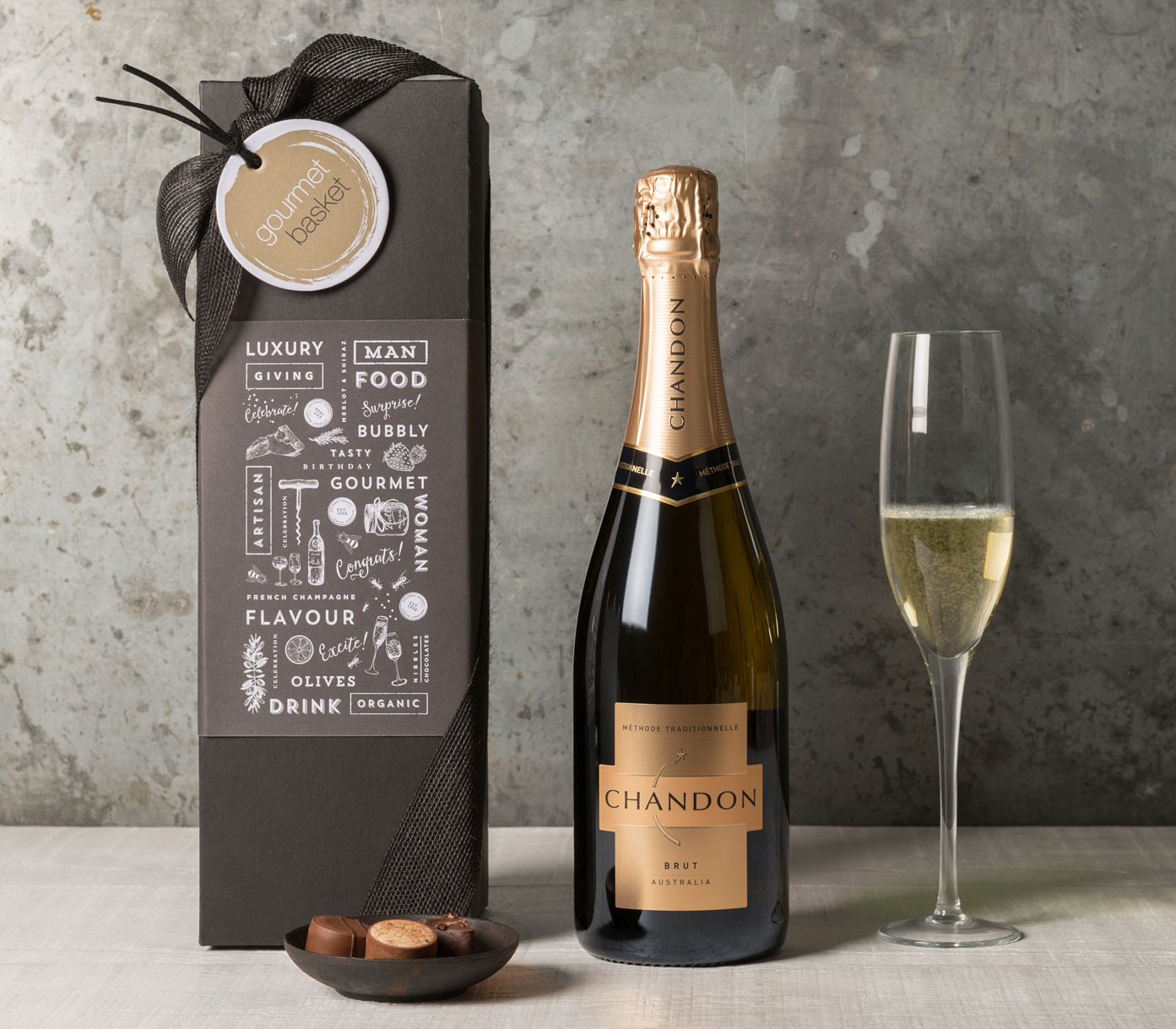 Chandon Sparkling Gift | Congratulations gifts, celebrate | Gourmet Basket