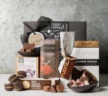 Gourmet Basket's Chocolate Bliss Gift Basket is the perfect Chocolate Bliss, Chocolate lover gift basket from Gourmet Basket
