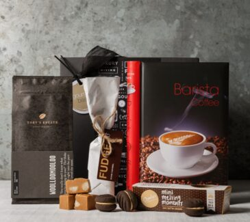 Coffee gift hamper. Gift Hampers from Gourmet Basket. Coffee lover gift delivery.