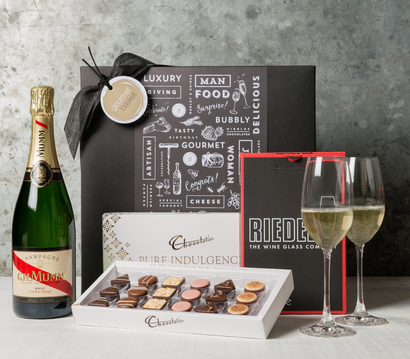 Congratulations – Choose your Champagne