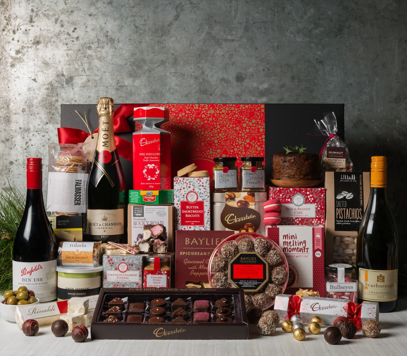 Astonishing Get The Perfect Corporate Christmas Gift Hamper From Gourmet Basket Easy Diy Christmas Decorations Tissureus