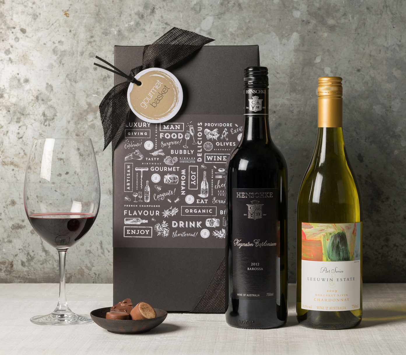 Premium Wine Gift Set Twin Pack | Gift Hampers from Gourmet Basket