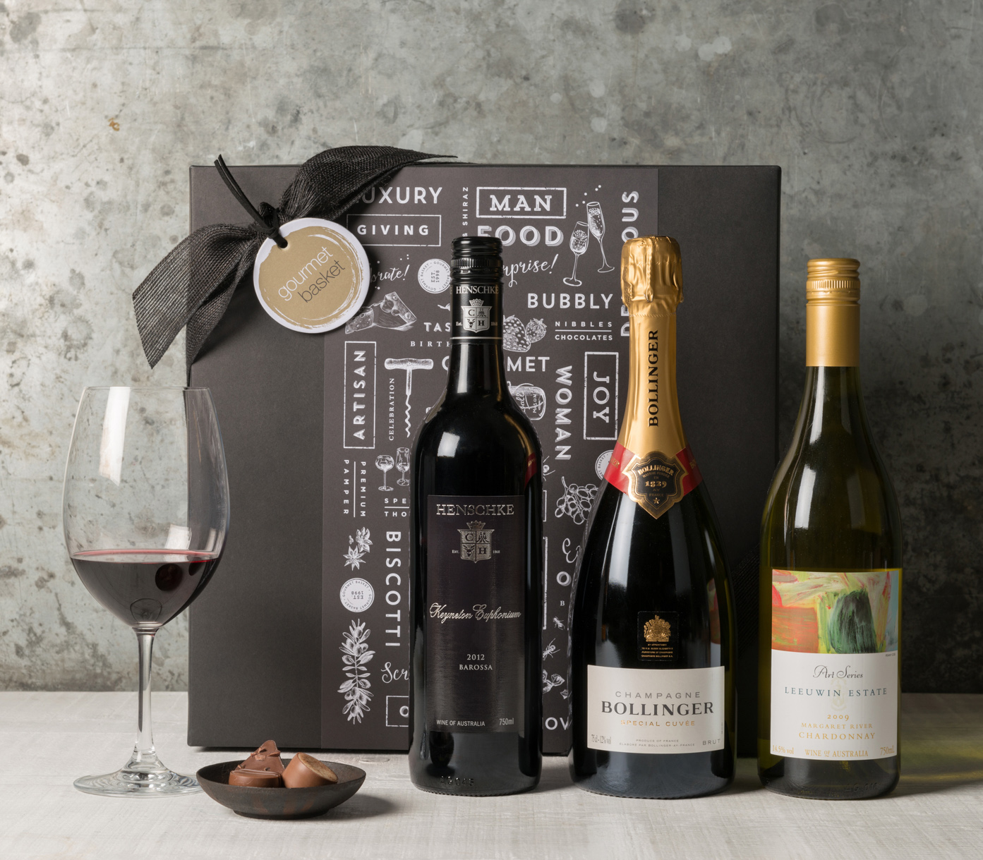 Executive Wine Trio. Premium Gift Hampers from Gourmet Basket