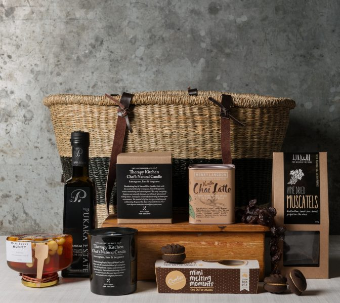 French gourmet food gift hamper