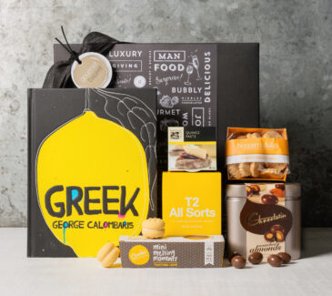 George Columbaris gourmet gift hamper