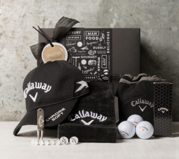 Golf lovers gift hamper from Gourmet Basket