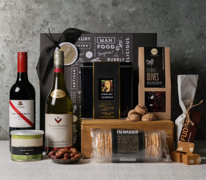 Gourmet food and wine gift set | Gourmet gifts from Gourmet Basket