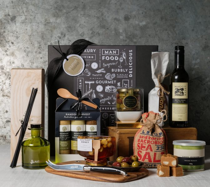 Premium Food Gift Set. Gift Hampers from Gourmet Basket