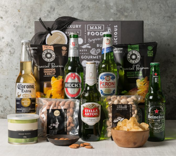International Beer Gift Hamper | Father's Day Gifts | Gourmet Basket