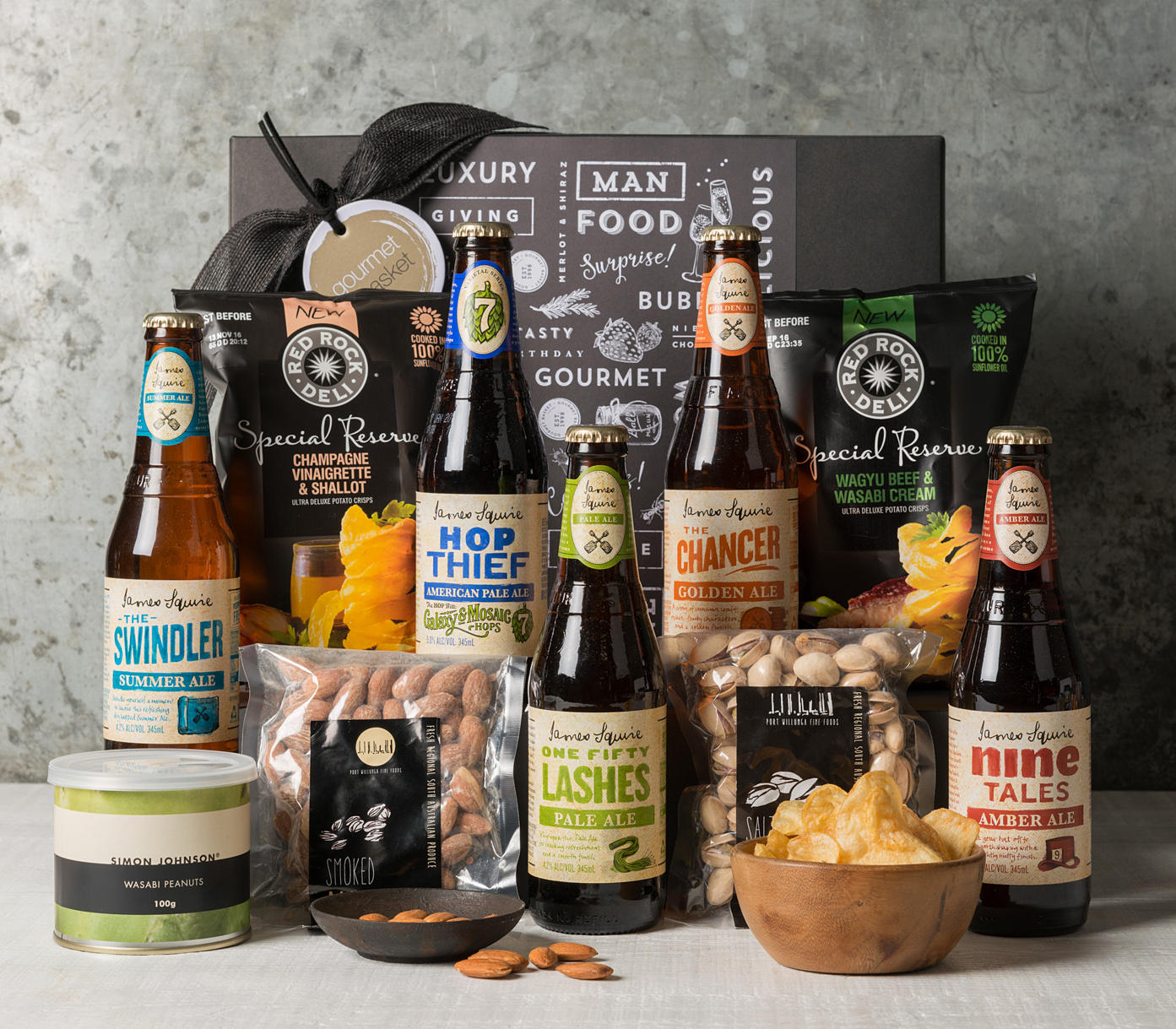 Send a James Squire beer Gift Basket from Gourmet Basket