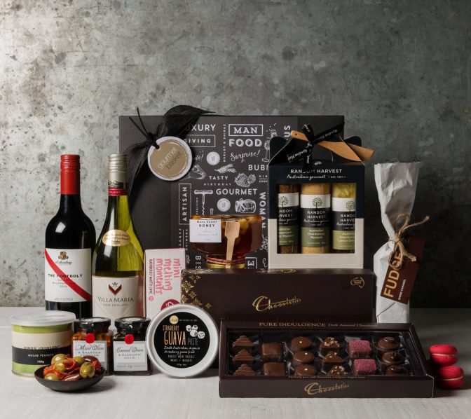Premium Wine Gift Set. Gift Hampers from Gourmet Basket