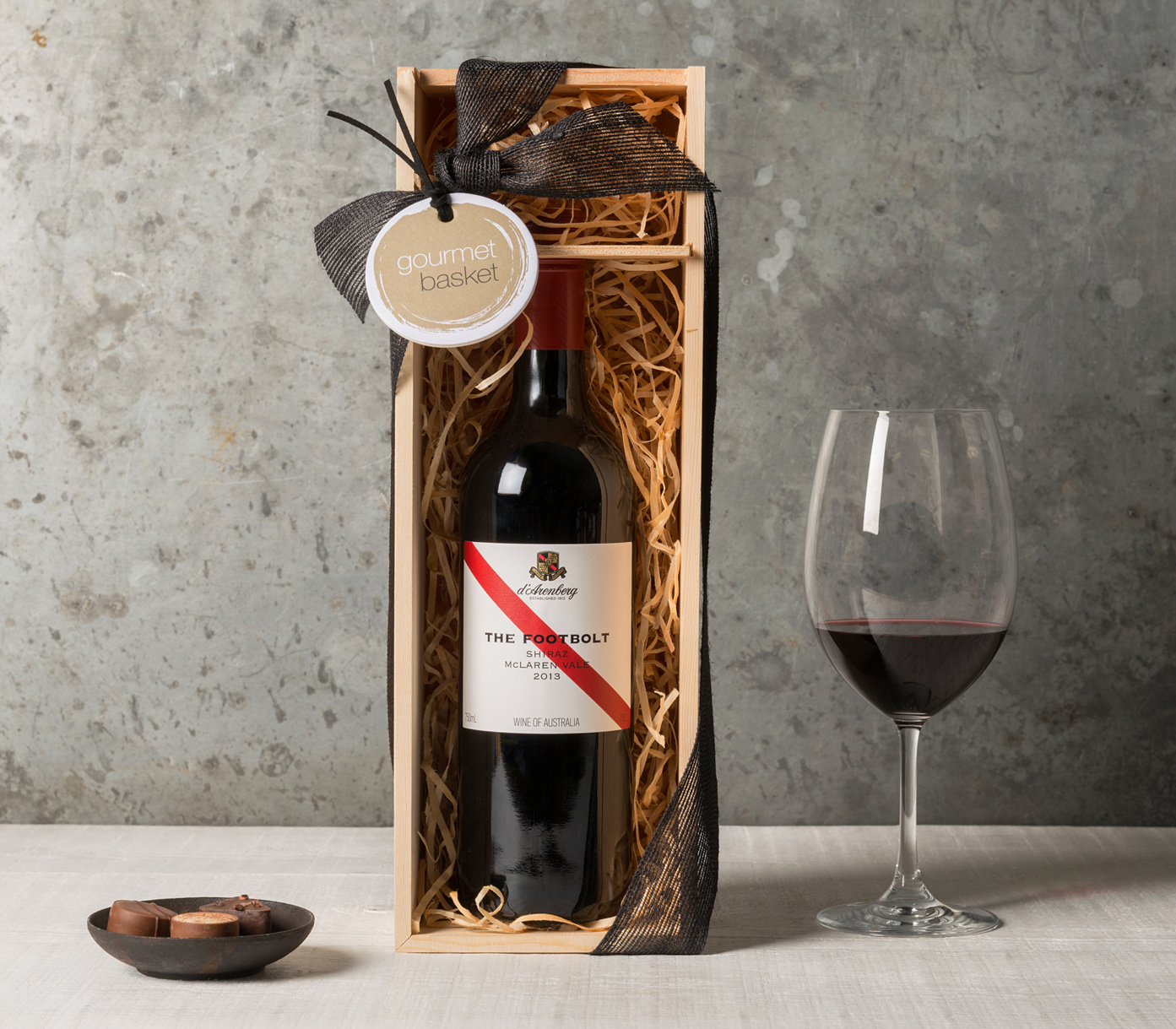 Red Wine Lover Gift | Wine & Champagne Gifts | Gourmet Basket