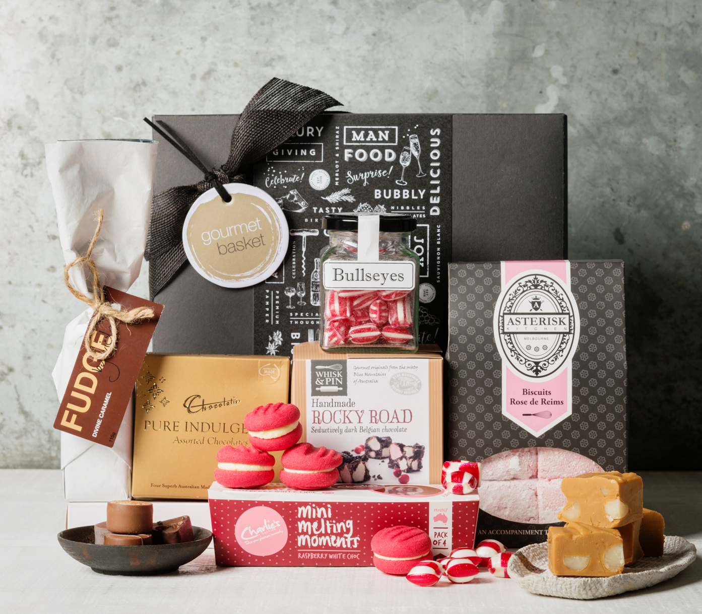 Gourmet basket exceptional gift baskets gift hampers sweet indulgence negle Image collections