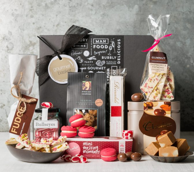 Sweet Treats gift box, gifts for women from Gourmet Basket