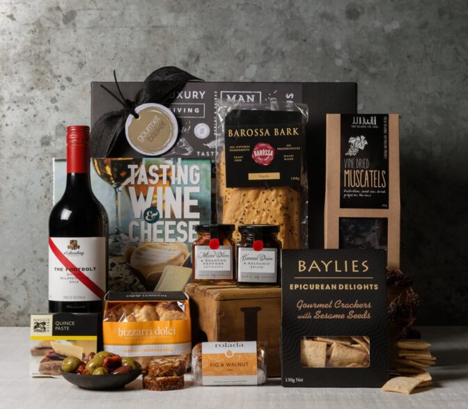 Gift Hampers from Gourmet Basket. Gourmet food hamper delivery. Wine and cheese hamper. Wine and cheese gift delivery.