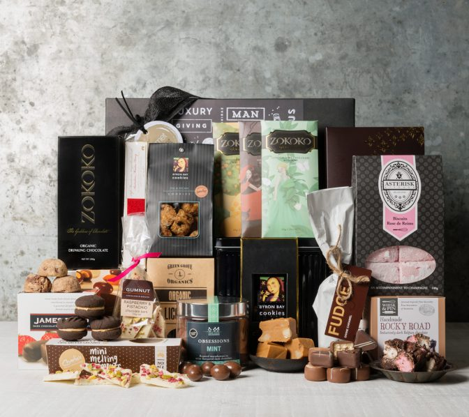 Ultimate Sweet Tooth gift basket | gourmet basket | gifts for women