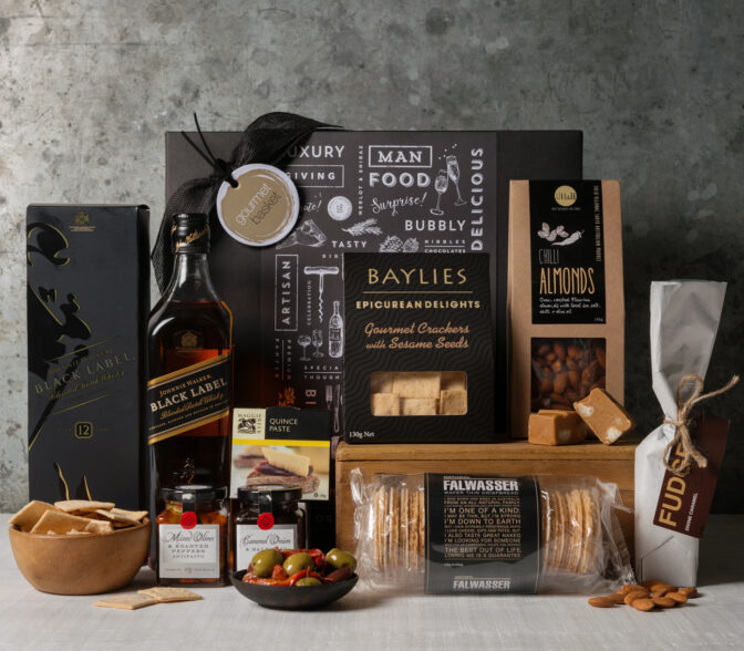 Whisky and Gourmet Hamper from Gourmet Basket