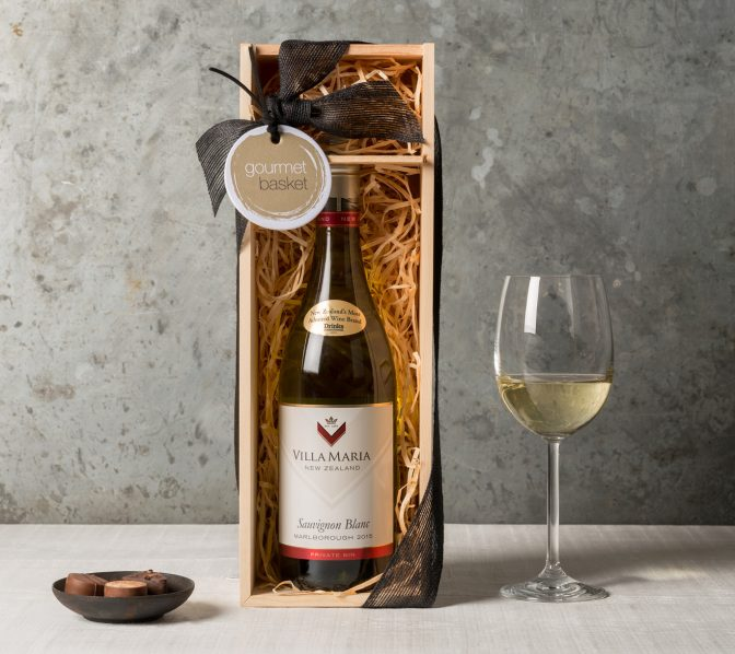White Wine Gift | Wine & Champaigne Gifts | Gourmet Basket Gifts