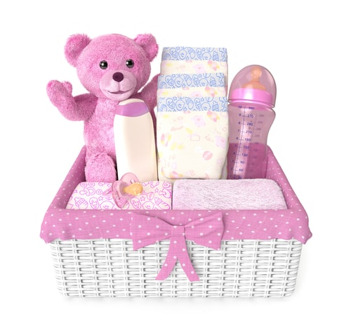 Hermes Australia Baby Gifts : Things baby gift baskets should contain gourmet basket