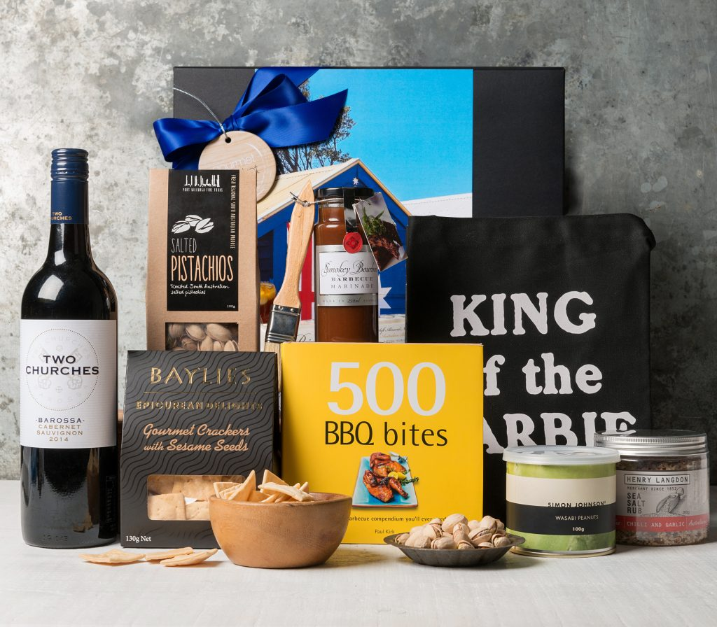Australian Wedding Gifts For Overseas: Australiana BBQ King Hamper