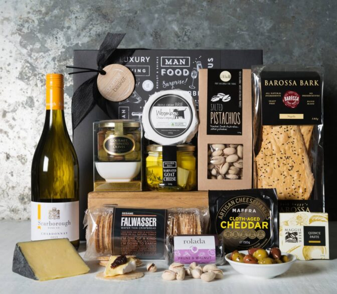 Luxury Cheese & Chardonnay Hamper