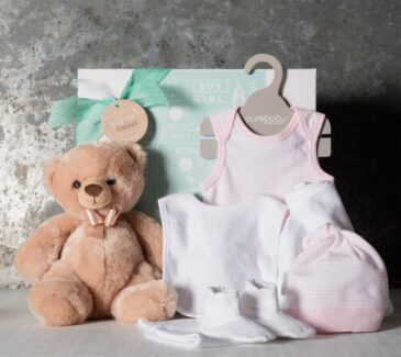 Classic Essentials Baby Girl Hamper